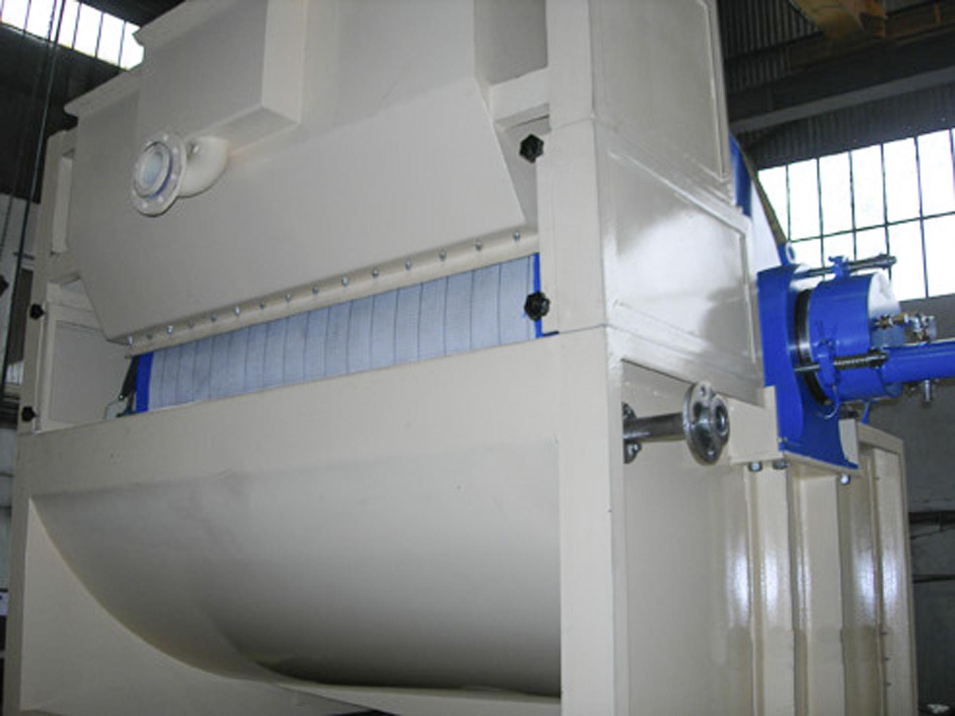 Top Feed Vacuum Filter